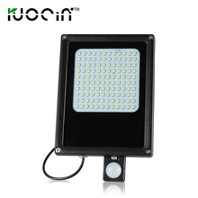 high lumen motion sensor 6v*6w waterproof ip 65 120 leds solar flood light(China)