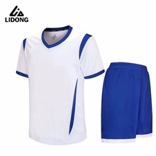 boys training soccer kits survetement football 2017 new style sporting uniforms hot sale soccer jerseys sets top quality uniform(China)