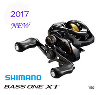 Original  2017 NEW  Shimano BASS ONE XT 150 151 Bait Casting Fishing Reel
