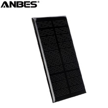 Buy ANBES Solar Panel Polycrystalline Cell Mini Solar Panel Module DIY Charger Battery System 1.25W 5V 110*69mm Solar Panel for $2.00 in AliExpress store