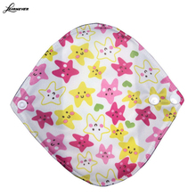 1pc 18*18cm Reusable Washable Bamboo Cloth Menstrual Sanitary Maternity  Pads  X069