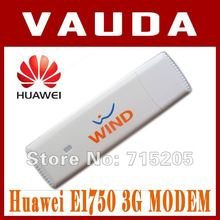 Huawei E1750 WCDMA 3G USB Wireless Modem Dongle Adapter SIM TF Card HSDPA EDGE GPRS Android System Support Free Shipping(China)