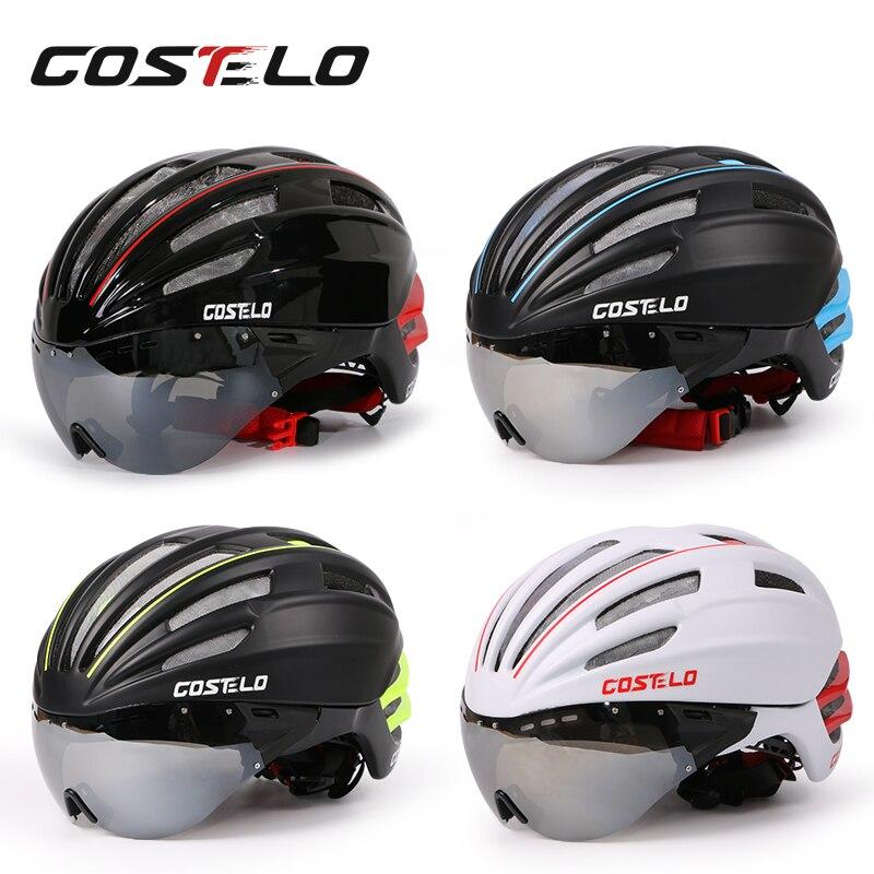 2017 New Bicycle Helmet Ultralight Cycling Helmet costelo Casco bicicleta velo capacete helm casque Road Mountain MTB Helmet<br><br>Aliexpress