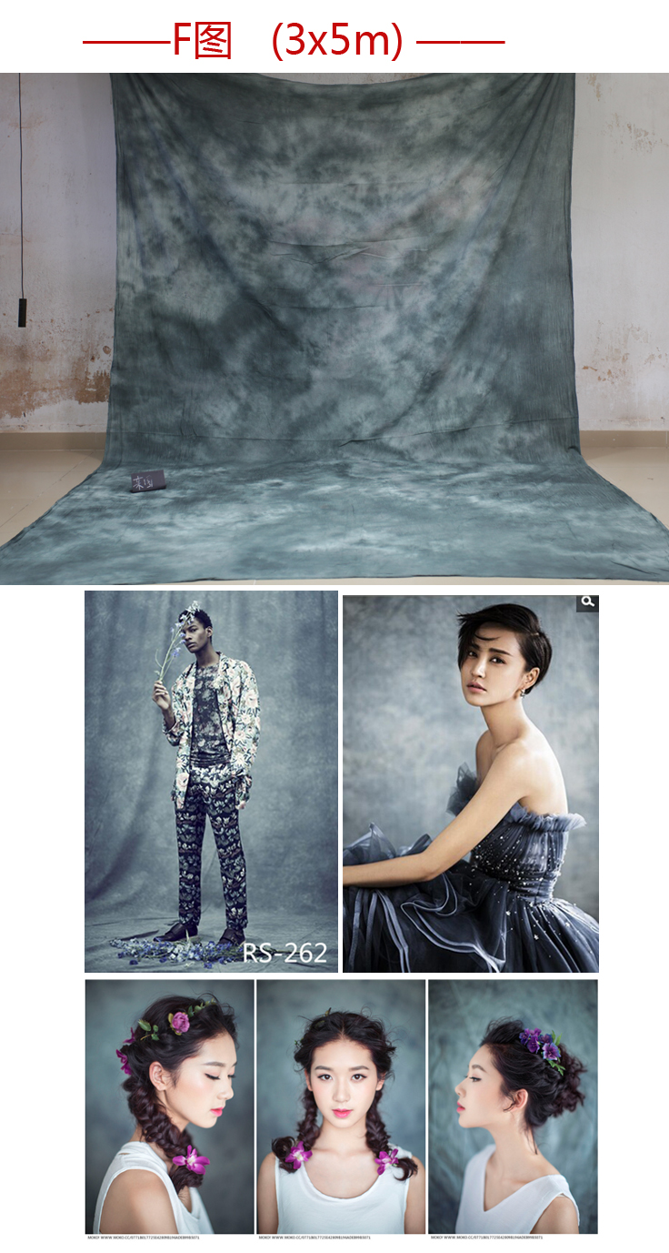 2017 Newest Tye-Die Muslin Fantasy Backdrop RS262,fond de studio de photographie ,backgrounds for photo studio,size customized<br>
