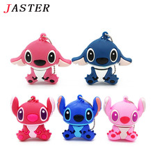 JASTER Lovely Cartoon Lilo & Stitch USB Flash Drives 32GB 16G 8G 4GB Pen Drive memory stick pendrive thumbdrives mini gift