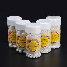 85g White Pearl Can 85g White Pearldy Sugar Edible Beads DIY Cake Ice Cream Chocolate Craft Decoration Baking Decorative Supply(China)