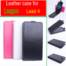 Old School Phone Cases For Leagoo Lead 4 Business Retro Tough Leather Flip Vertical Book Fold Case Back Cover Bag Accessories(China)