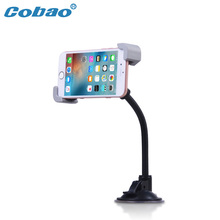 Cobao Universal Car Smart Phone Holder, Suction Cup Dashboard Desk Phone Mount Accessories Parts For iphone 6s 7 Plus Samsung s5