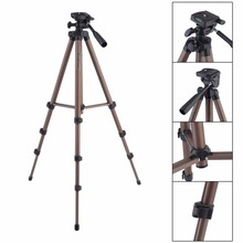 LESHP WT3130 Aluminum Alloy Camera Tripod with Rocker Arm for Canon Nikon Sony DSLR Cameras Camcorders Lightweight Mini Tripod(China)