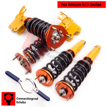 Coilovers Spring Strut Absorber For NISSAN 240SX 200SX 180SX 1989-1994 Non Adjustable Damper Coilover Shock Absorber(China)