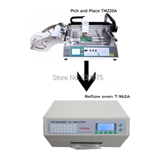 SMT Production Line-Pick and place machine TM220A,Reflow Oven T-962A,Manufacturer,Led component,PCB Board,solder paste,factory