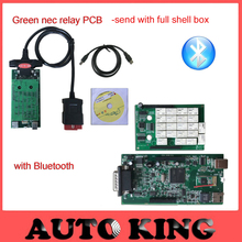 Factory lowest price! NEW VCI vd tcs cdp pro with bluetooth led cables for car & truck ne-c relay obd2 diagnostic tool Equipment(China)