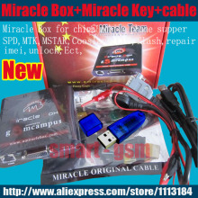 2016 100% Original Miracle box +Miracle key with cables ( v2.33A  hot update ) for china mobile phones Unlock+Repairing unlock