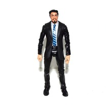 Marvel Legends Tony Stark With Head Agent Coulson Black Suit Body Action Figure TOY FREE SHIPPING