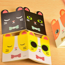 6pcs/lot Super Kawaii Animals Booklet Cute Cat Notepad Memo Soft Copybook Study Thin Notebook For Student Portable Stationery WZ(China)