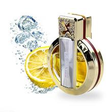 1 pcs Diamond Plated Fragrance  Air conditioner Vent parfums  Car Solid fragrance  one contain solid perfume
