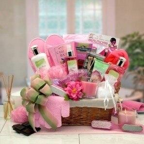 Gift Basket Drop Shipping 8413552 Sweet Blooms Spa Gift Basket (1)