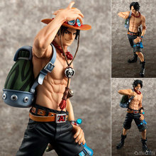 Anime Japanese Catoon One Piece POP DX Fire ACE the 10th Anniversary Special Edition PVC Action Figure Collectible Model Toy(China)