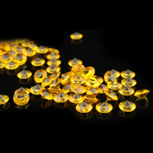 Fashion gold 10000pcs/bag 2.5mm  Acrylic Diamond Confetti Wedding Table Scatter Decoration bridal shower ,big discount HQ
