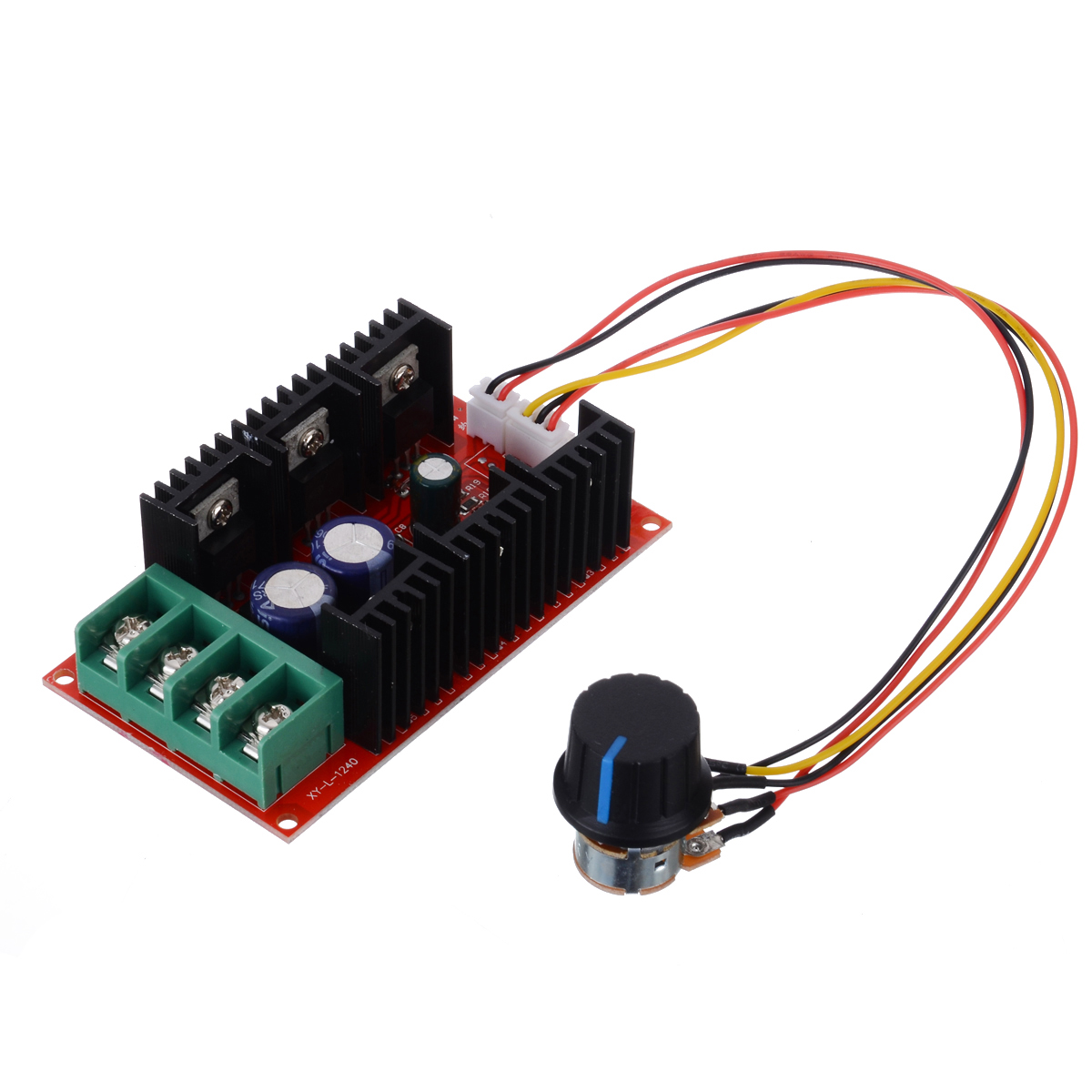 DC 12V 24V 48V Motor Speed Control -50V 2000W 40A Motor Speed Control Module PWM HHO RC Controller