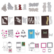 25 Styles 2017 New Metal Cutting Dies Stencils DIY Scrapbooking Album Decorative Embossing Cards Craft Die Cutting Template