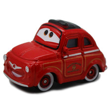 1 PCS Pixar Cars Movie Red Luigi Metal Diecast Toy Car 1:55 Loose Model Alloy Car Disney Cartoon Car Toy For Children(China)