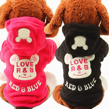Pet Dog Clothes for Dogs Coat Jacket Winter Warm Pet Supply Costume Cute Cartoon Bear Chihuahua Puppy Outfit Coat Clothes 30