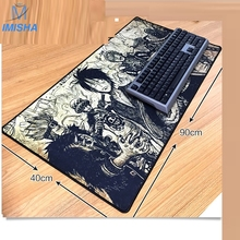 Imisha Newest Super large Speed Edition 800x300mm rubber mouse pad computer game tablet mouse pad with edge locking