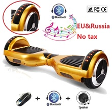 "6.5"" electric scooter with Led Lights Self balancing scooter skateboard hoverboard bluetooth oxboard smart balance wheel scooter"