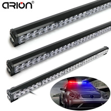 CIRION 36W to 90W Led Strobe Light Car Flash Signal Emergency Fireman Police Beacon Warning Lights Red Blue Amber White 12V/24V(China)