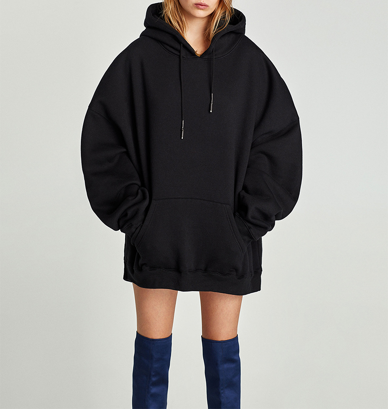 Autumn Winter Hoodies Women Hooded Sweatshirt Long Sleeve Pocket Casual Black Oversized Hoodie Sudadera Mujer (7)