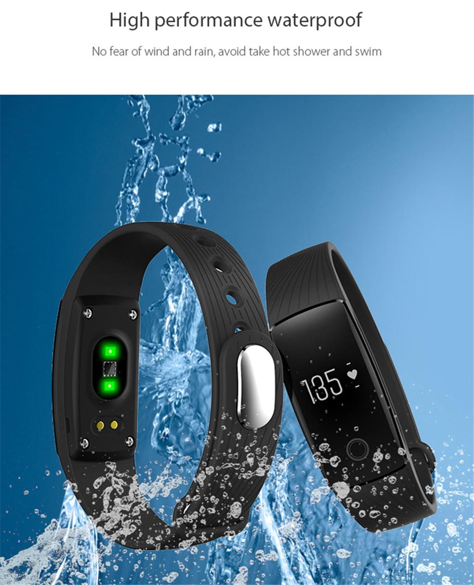 Teamyo New V05C Smart Band Pulse Heart Rate Monitor Smart Wristband Fitness Tracker Pedometer Sleep Tracker IOS Android Bracelet 18