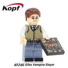 Single Sale Giles Spike Willow Angel OZ Buffy the Vampire Slayer Series Building Blocks Super Heroes Toys for children KF246(China)