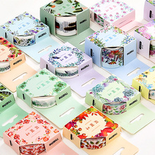 15mm/30mm x 5/7m Plants beauty flowers washi tape DIY decorative scrapbook planner masking tape adhesive tape stationery(China)