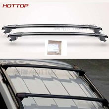 Roof rack for cars, trucks, and SUVs For Toyota Land cruiser 2008-2016 2pcs Black Cross Bar Roof Cargo Luggage Rack