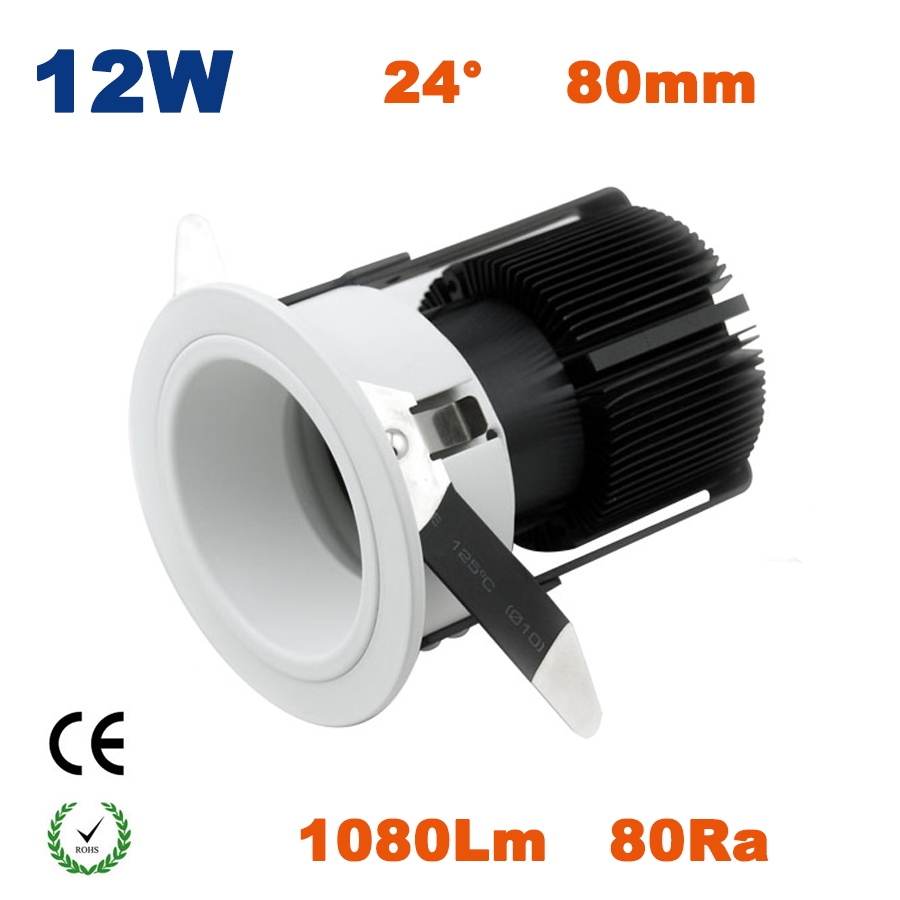 6PCS 12W Commercial COB Led Spotlight Lamp 80Ra Led Lighting Lamp for Dining Restaurant and Hotel CE RoHS<br><br>Aliexpress