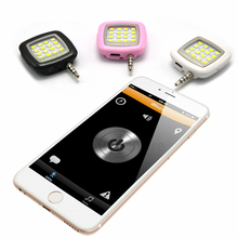 Novelty LED FLASHLIGHT for Beauty camera Phone fill light mini Selfie sync Flash Fill light For IOS Android iphone 7 6 5 S(China)