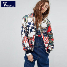 Women Embroidery Bomber jacket 2017 new winter Autumn clothing faux Baseball Coat Plus Size Souvenir Outweat Fashion Hot sale(China)