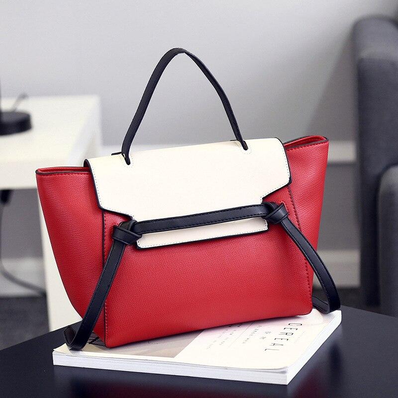 New to the high-end luxury bat bag womens handbag simple wild womens package mother bag fine PU shoulder bag Messenger bag<br><br>Aliexpress