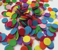4CM Round Felt fabric pads accessory patches circle felt pads, fabric flower accessories