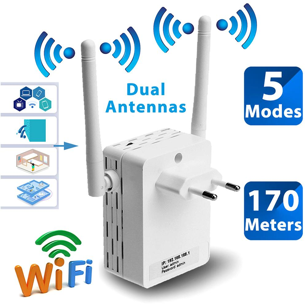 Router Repeater Bridge Signal-Amplifier Fi-Access-Point Wifi Long-Distance High-Gain title=