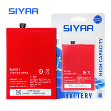 SIYAA Phone Battery BLP571 For One Plus One OnePlus One 3100mAh Lithium Polymer Replacement Batteries Retail Package