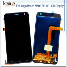 For Jinga Basco M500 3G 4G LCD Display With Touch Screen Digitizer Assembly Repair Parts NEW For Jinga Basco M500 3G 4G Phone(China)