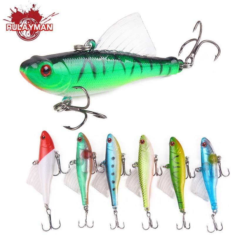 RULAYMAN Lure bait Explosive models 17.2g/1cm shock VIB full-strand vibrator Hard bait Bionic fishing lure Squid all eat RM471