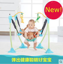 Rainforest Jumperoo Baby Bouncer Rocking Chair Baby Jumper Activity Center Baby Swing
