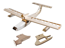 RC Woodines Plane 1.6m Seaplane--Miss New Orleans Balsa Wood Airplane Model Kit ( For Gas Power and Electric Power)(China)