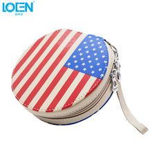 New Fashion Car Auto CD DVD Disk Card Visor Case Holder Clipper Organizer Bag Car UK Flag 20 CDs Inside Carry Case For All Cars
