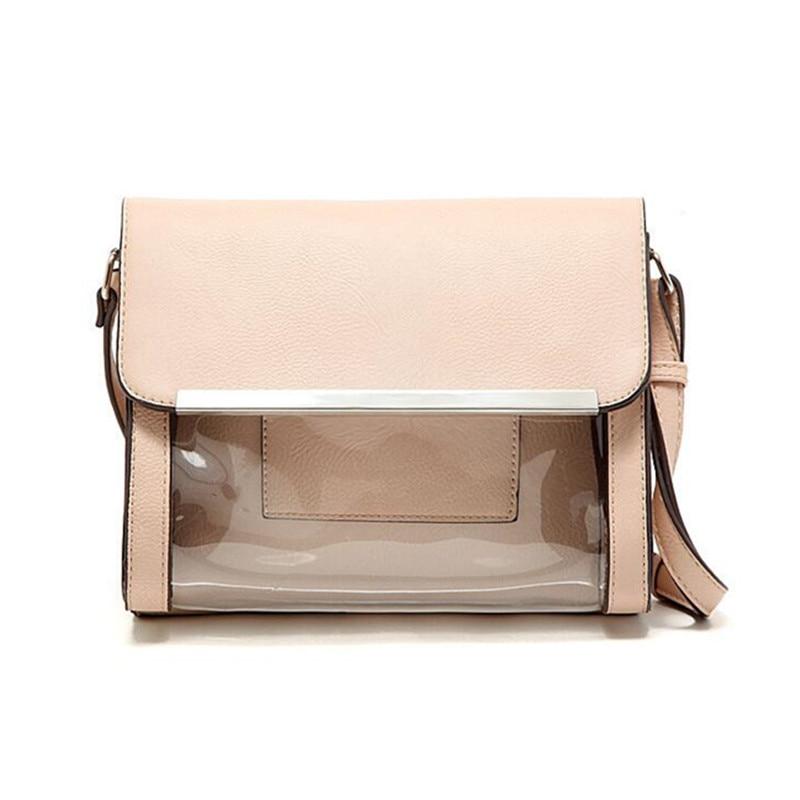European Fashion Brand Designer Women Handbag Transparent Messenger Bag for Girls Clear Shoulder Beach Bag Beige Flap Summer<br><br>Aliexpress