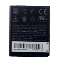 1PCs New 3.7V 1230mAh Battery For HTC Desire HD G10 Inspire 4G Ace BD26100 A9191 T8788 Free Shipping + Tracking Code