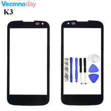 Buy Vecmnoday 4.5'' Front Screen Outer Glass Touch Outer Cover Panel LENS LG K3 LTE K100 K100DS LS450 Touchscreen for $5.88 in AliExpress store